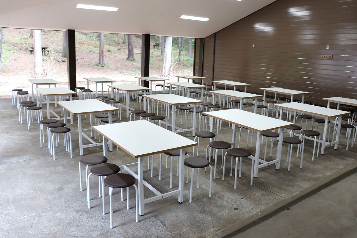 グリーンロッジ 野外研修室