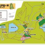 エコパ伊奈ヶ湖 園内マップ